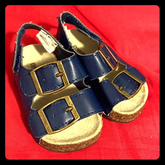 Navy Baby Sandals size 1